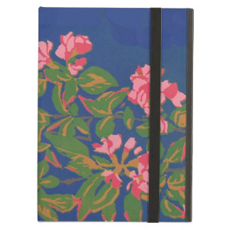 Powis iCase iPad Case, Pink Japonica Cover For iPad Air