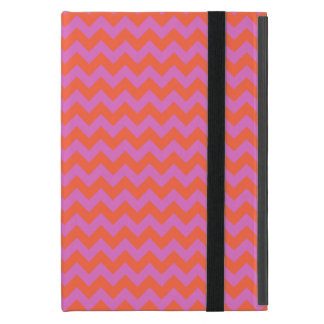 Powis iCase iPad MiniCase Pink and Orange Chevrons iPad Mini Case