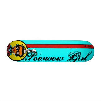 Powwow Girl Skate Deck