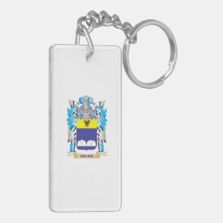Poxon Coat of Arms - Family Crest Acrylic Key Chains