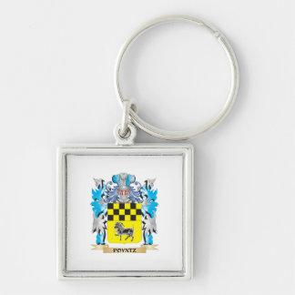 Poyntz Coat of Arms - Family Crest Keychain