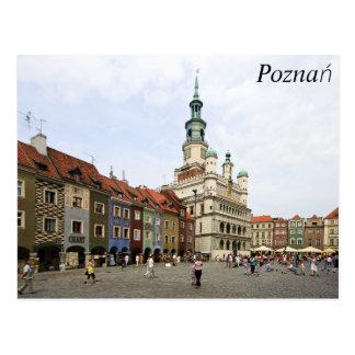 Poznań, Poland Postcard