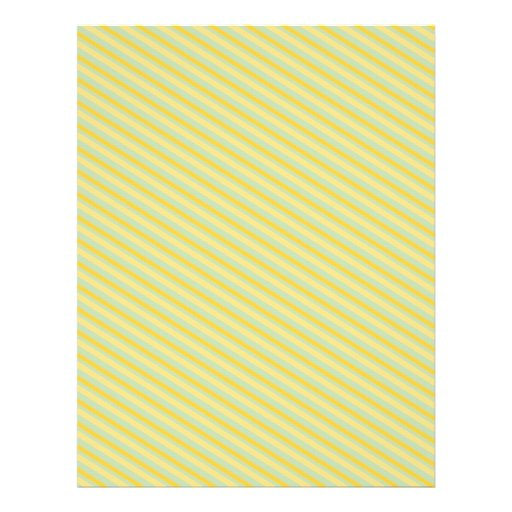 PP6 LIGHT PISTACHIO GREEN LITTLE YELLOW STRIPES PA PERSONALIZED FLYER