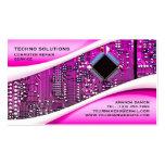PP Computer Repair Business Card