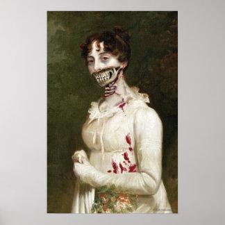 PPZ Cover Zombie Canvas Art Print
