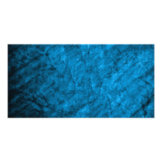 Pr 090 MAGICAL FANTASY BLUE TEXTURES SPACE DIGITAL Photo Card