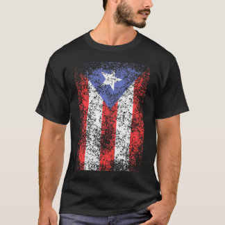 PR Flag Faded Big T-Shirt