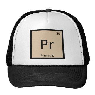 Pr - Pretzels Snack Chemistry Periodic Table Cap