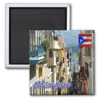 PR - Puerto Rico -  Old San Juan Magnet