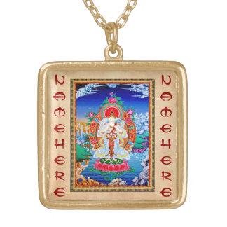Prabhutaratna Buddha Cool oriental Padmakumara Custom Necklace
