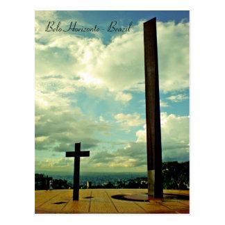 Praça do papa, Belo Horizonte, Brazil Postcard