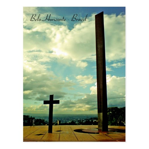 Praça do papa, Belo Horizonte, Brazil Post Cards