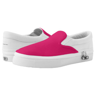 Practical Edition - Pink Slip On Shoes