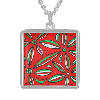 Practical Good Exciting Adorable Square Pendant Necklace