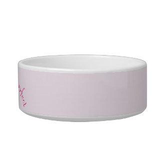 Practically Purrfect Pet Bowl, Pink Bowl