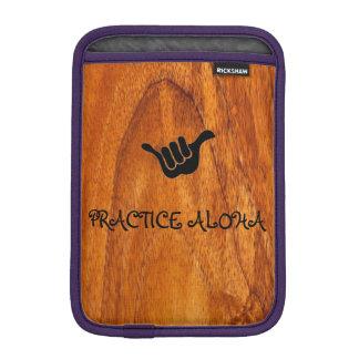Practice Aloha iPad Sleeve For iPad Mini