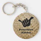 Practice Aloha Key Ring