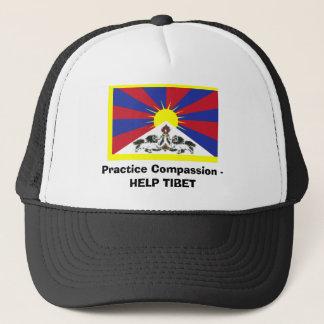 Practice Compassion - HELP TIBET Trucker Hat