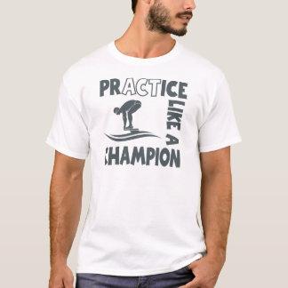 Practice Swim, grey T-Shirt