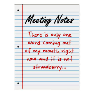Practicing Business Etiquette Post Cards