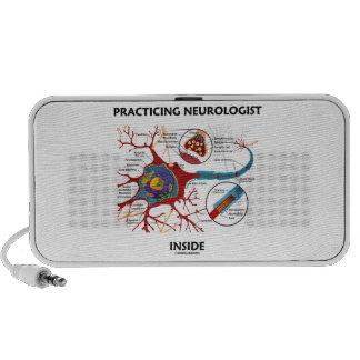Practicing Neurologist Inside (Neuron Synapse) iPod Speaker
