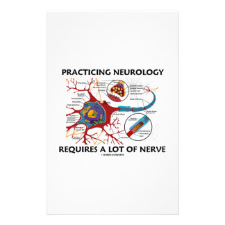 Practicing Neurology Requires A Lot Of Nerve Stationery