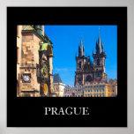 Prague 001W Posters