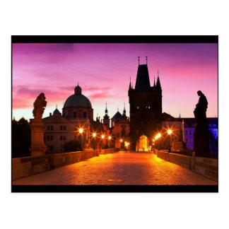 Prague 003A Postcard