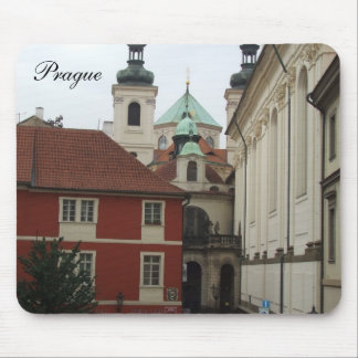 Prague Architecture Mouse Mat