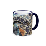 prague astronomical clock ceramic mug
