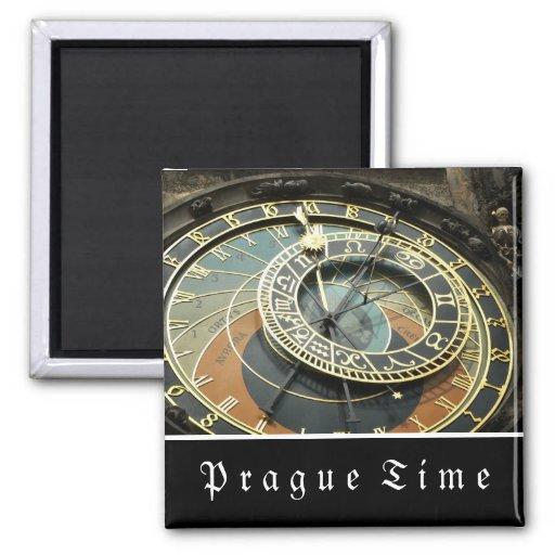 Prague Astronomical Clock Fridge Magnets