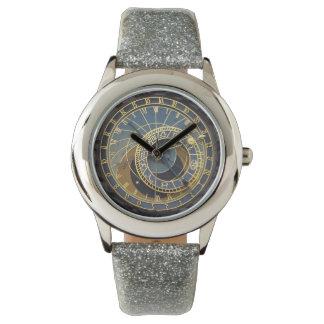 Prague astronomical clock wrist watches