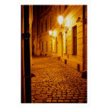 Prague by Lamplight Poster