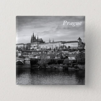 Prague Castle 15 Cm Square Badge