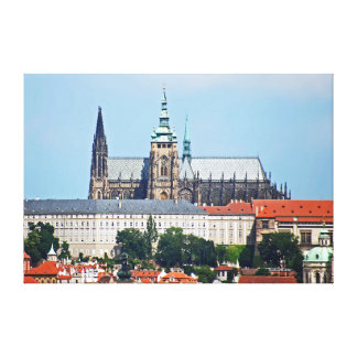 Prague Castle. Canvas Print