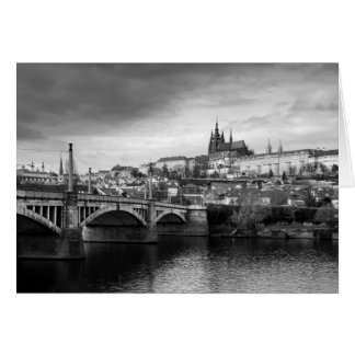 Prague Castle Card