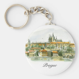 Prague Castle key chain