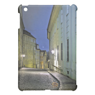 Prague Castle Lane Night iPad Mini Cases