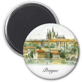 Prague Castle magnet