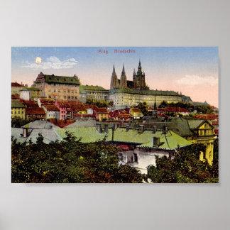Prague Castle Print