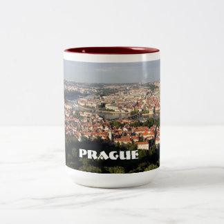 Prague city mug