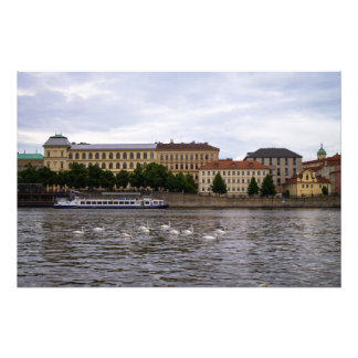 Prague Cityscape Photograph