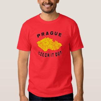 Prague - czech it out t shirt