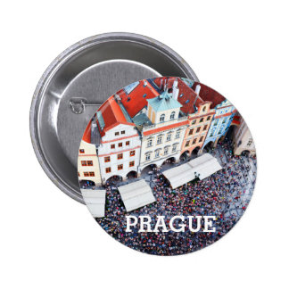 Prague, Czech Republic 6 Cm Round Badge