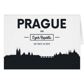 Prague, Czech Republic Card