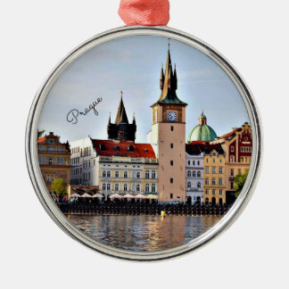 Prague, Czech Republic,  cityscape Christmas Ornament