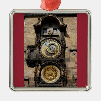 Prague Czech Republic Clock Christmas Ornament