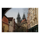 PRAGUE, Czech Republic - winding streets
