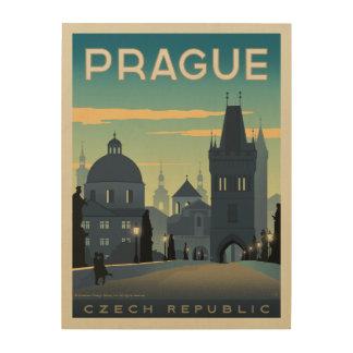 Prague, Czech Republic Wood Print