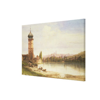 Prague, Czechoslovakia Canvas Print